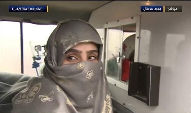 مطلقة البغدادي  سجى الدليمي ستقيم في قطر