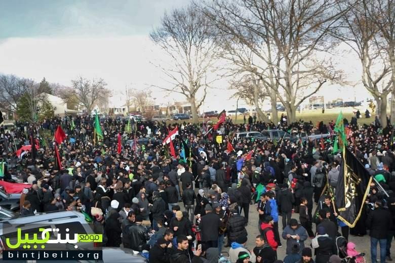 تقرير مصور من المسيرة الحسينية الأربعينية الحاشدة في مدينة ديربورن الأمريكية