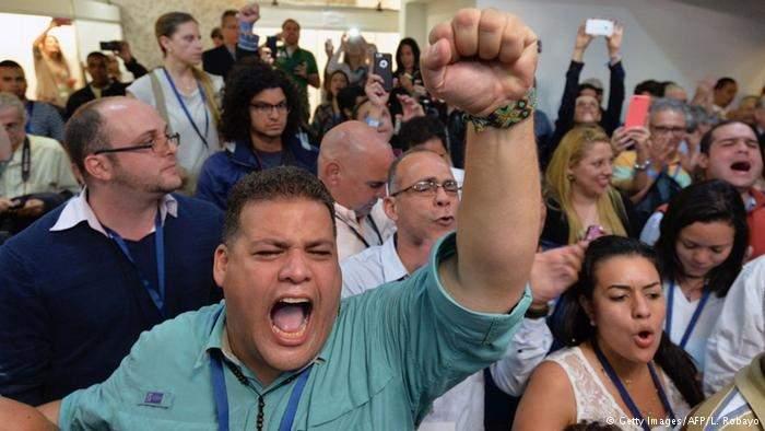 المعارضة في فنزويلا تطيح بالاشتراكيين وتسيطر على البرلمان
