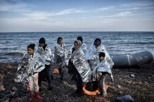 مصرع 11 مهاجرا على الاقل في غرق مركب في بحر ايجه