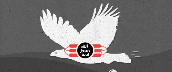 """""""الطيور الانتحارية""""... أحدث أفكار """"داعش"""""""