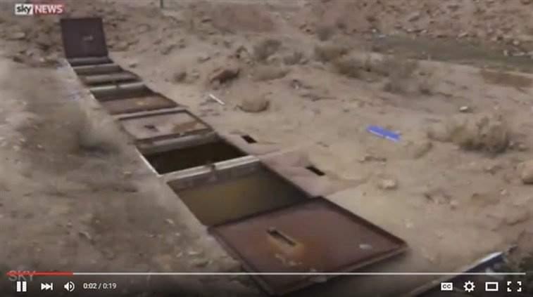 """بالفيديو.. لن تصدّقوا أين كان يحتجز تنظيم """"داعش"""" الإيزيديات في سوريا!"""