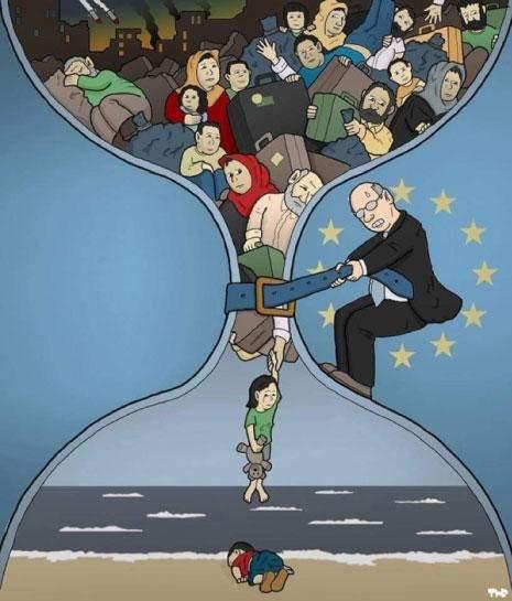 دراسة بريطانية: إيلان شفيع اللاجئين