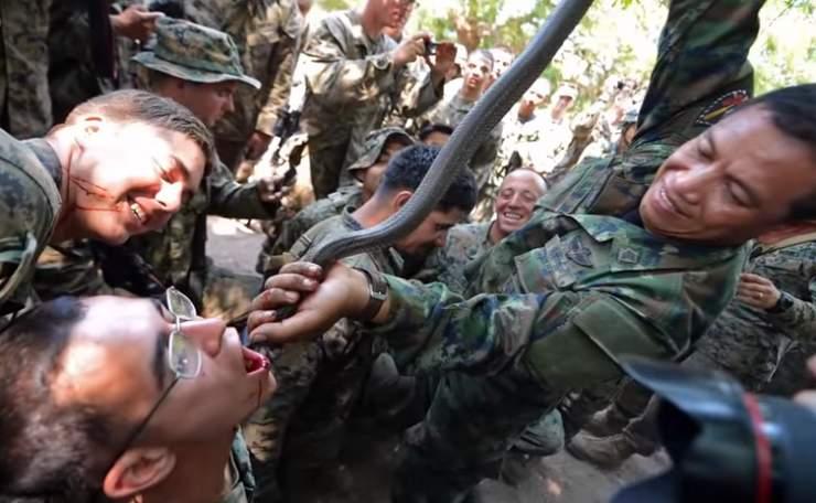 فيديو  10 تدريبات مجنونة للقوات العسكرية