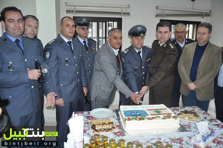 احتفال عيد الشرطة في مجمع قوى الأمن