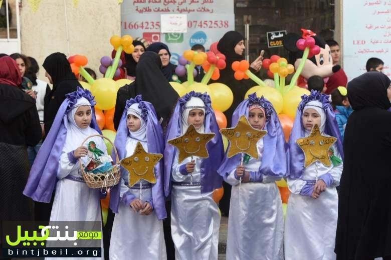نشاط  لمركز المطالعة في بنت جبيل بمناسبة ولادة الرسول الاكرم محمد ( ص )