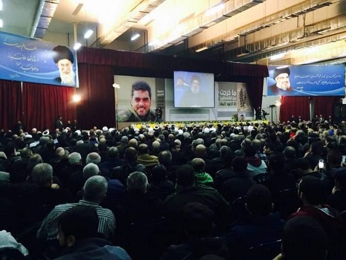 تقرير مصور من الإحتفال التكريمي في ذكرى اسبوع عميد الأسرى الشهيد سمير القنطار