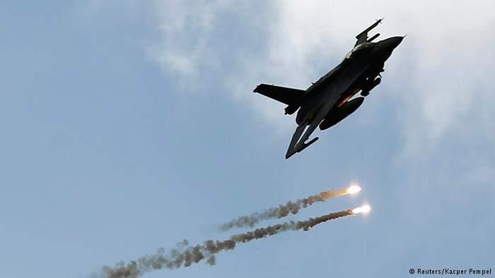 """""""التحالف العربي"""" يعلن سقوط طائرة إف-16 بحرينية تشارك في العدوان على اليمن"""