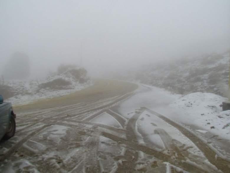 الثلوج كللت المرتفعات الجبلية في عكار اعتبارا من 1400 م