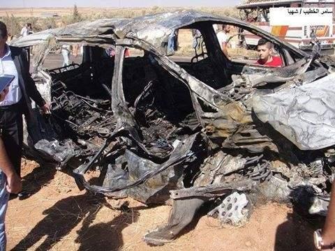 بالصور / حادث مروع ليلاً على طريق السويداء : مقتل 25 شخصاً بينهم 9 لبنانيين