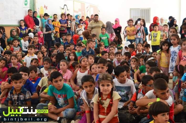 مهرجان ترفيهي للأطفال في بنت جبيل