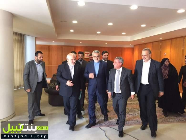 وصول رئيس لجنة الأمن القومي و السياسة الخارجية في مجلس الشورى الإيراني الدكتور علاء الدين بروجردي إلى مطار رفيق الحريري الدولي