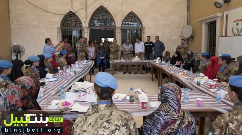 لقاء لجنديات حفظ السلام في اليونيفيل مع سيدات المجتمع الجنوبي
