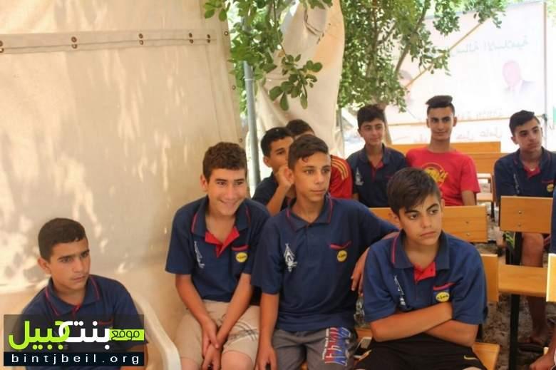 """المنطقة الثالثة في مفوضية جبل عامل إفتتحت مخيمها التدريبي """" السراج المنير"""""""