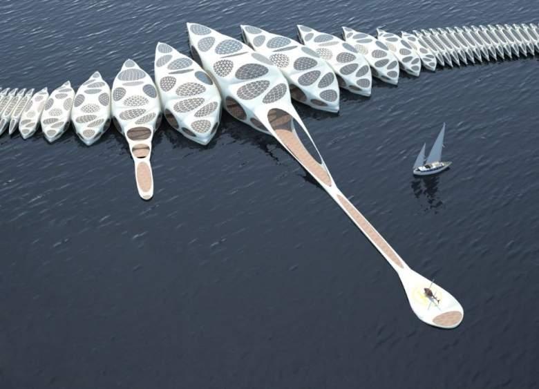 بالصور.. فندق متجول يمكنه الإبحار حول العالم