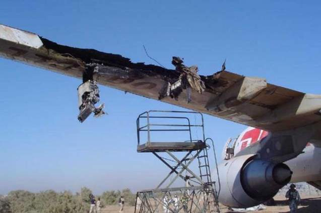 أنجح 10 حالات هبوط اضطراري للطائرات في العالم