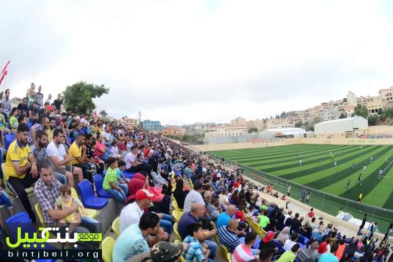 بالفيديو و الصور / مباراة لاهبة بين منتخبي نجوم بنت جبيل و النجمة ينقذ نفسه بالتعادل في الربع ساعة الأخيرة !