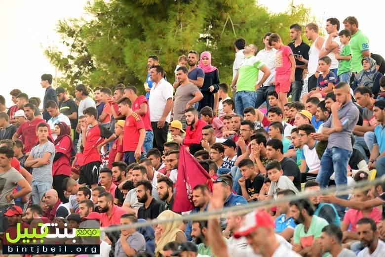 منتخب نجوم بنت جبيل يوجع النجمة..و الأخير يعادل في الدقائق الأخيرة بنتيجة 2-2