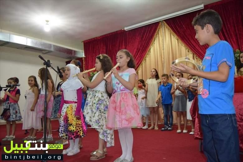 مركز المطالعة والتنشيط الثقافي في بنت جبيل يختتم البرنامج الصيفي للعام 2016