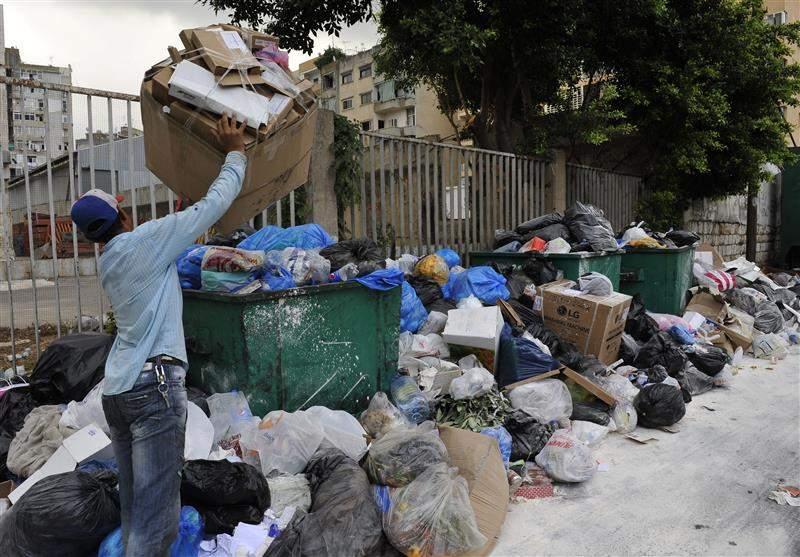 النفايات في شوارع العاصمة...مجدداً