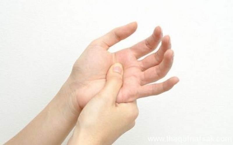 فوائد مذهلة للضغط على راحة اليد