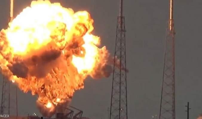 """ضربة موجعة للغاية ...انفجار """"فالكون 9"""" يحطم أحلام فيسبوك"""