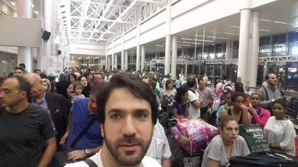 ازحام على غير العادة في مطار بيروت .. الحضور قبل 3 ساعات للسفر والا !