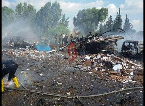 ارتفاع حصيلة التفجيرين قرب مدينة طرطوس السورية الى 30 شهيداً