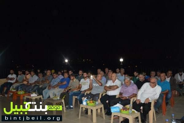 """لقاء بعنوان """"مقدمات عصر الظهور و الوضع الراهن"""" برعاية اتحاد بلديات قضاء بنت جبيل BU"""