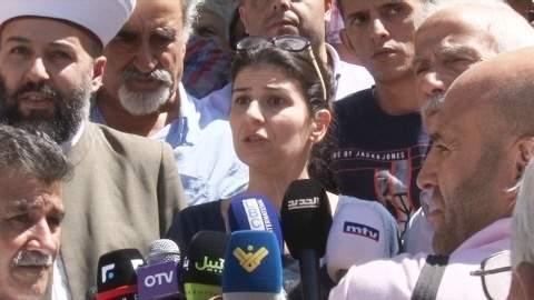 اعتصام لأهالي بعلبك احتجاجاً على اختطاف الدكتور صالح الشل