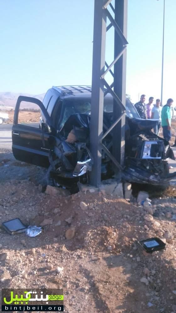 وفاة شابة بحادث سير مروع على طريق رأس بعلبك القاع