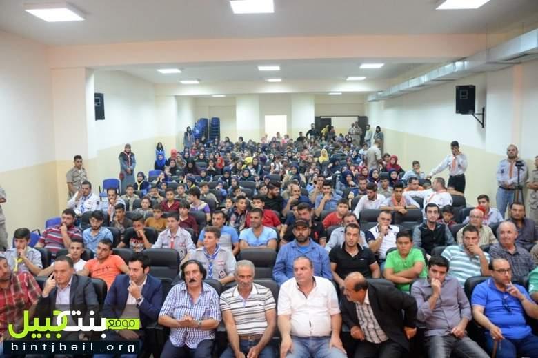 جمعية كشافة الرسالة الإسلامية تنظّم مسابقة التحدي الثقافي في بنت جبيل