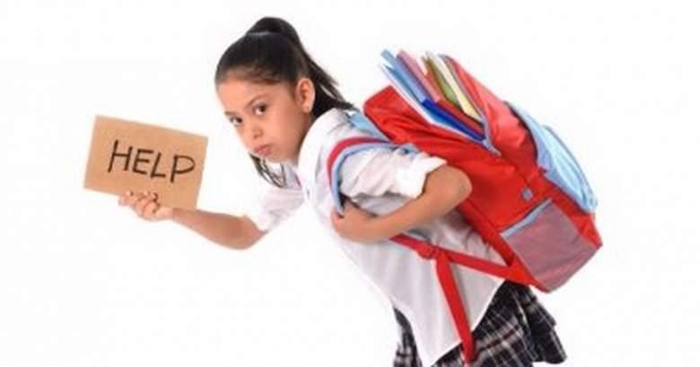"""""""شنطة المدرسة"""" ثقيلة... فكيف نجنبّ اولادنا وجع الظهر؟"""
