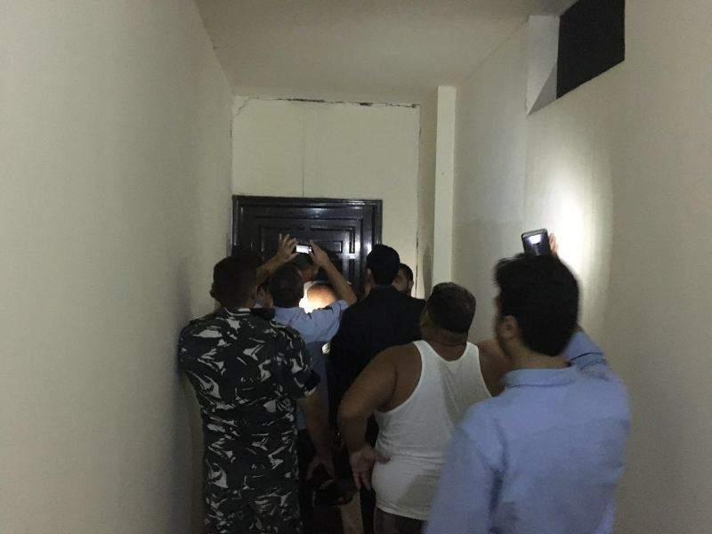 مبنى مهدد بالإنهيار في صيدا و 36 عائلة مهددة بالتشرد