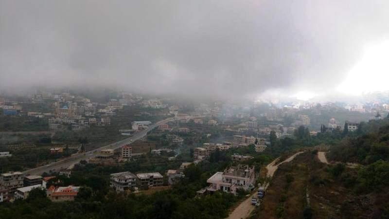 أمطار خفيفة في الضنية وتحذيرات من السرعة على الطرقات