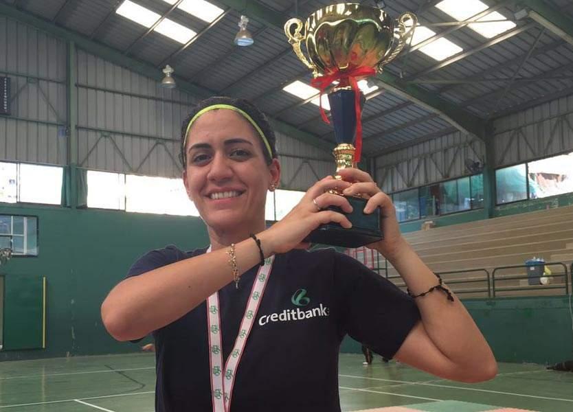 جنيفر نعمة: من بطولة لبنان لـ«الكيك بوكسينغ» إلى العالمية
