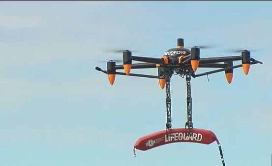 بالفيديو/ طائرة بلا طيار لحمل الأوزان و إنقاذ الأرواح
