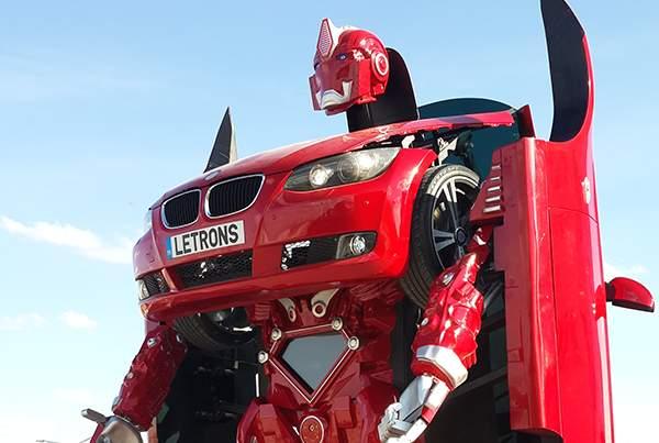 بالفيديو/ سيارة قادرة على التحول إلى رجل آلي في 30 ثانية!