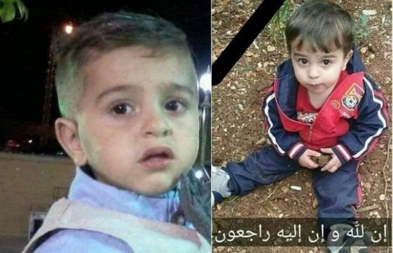 """فاجعة جديدة.. هكذا رحل الطفل """"محمود"""" ابن السنتين"""