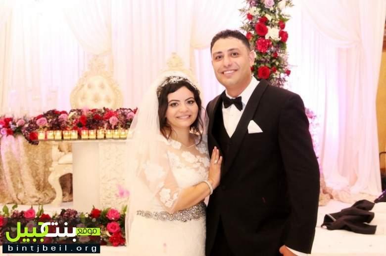 زفاف العروسين الشاب أسامة ابو خليل و الآنسة ريما عون في مدينة ديربورن الأمريكية