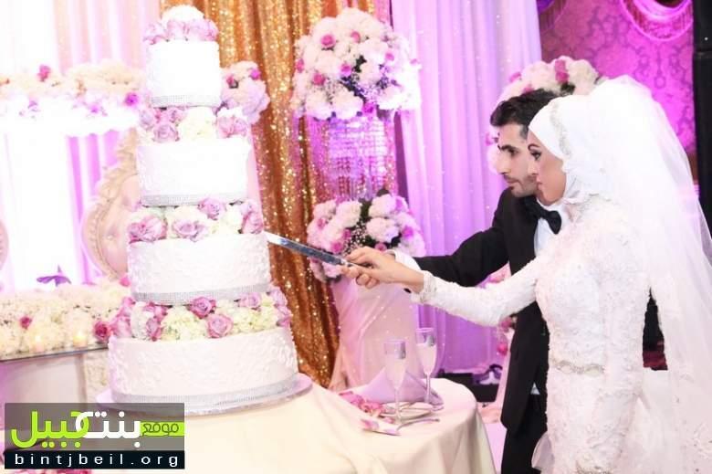 زفاف العروسين حسين محمد جميل سعد و الآنسة رنا حسيب منصور  في ديربورن