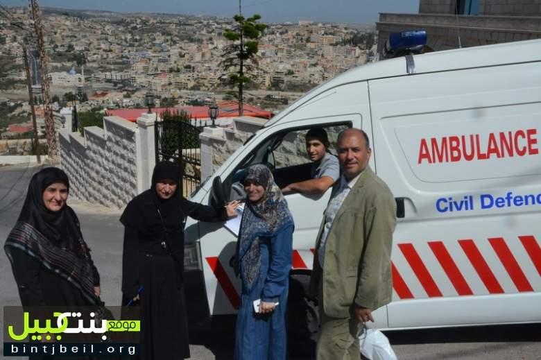 بلدية بنت جبيل تنظّم جولة صحية على كبار السن بالتعاون مع مستشفى الشهيد صلاح غندور و الهيئة الصحية الإسلامية