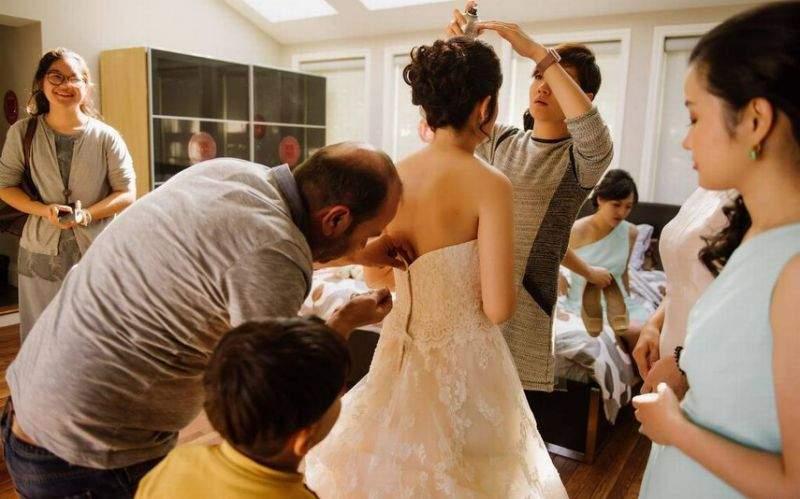 لاجئ سوري ينقذ حفل زفاف كندي!