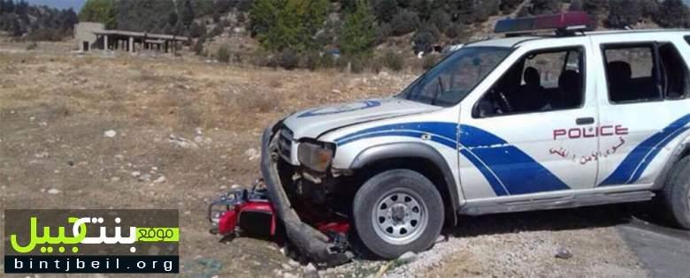 قتيلان نتيجة حادث مروّع بين آلية عسكرية تابعة لقوى الأمن الداخلي و دراجة نارية في عكار