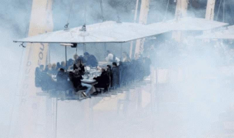 عشاء في السماء في بروكسل