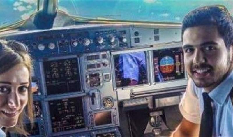 هذه هي المرأة الأولى والوحيدة في لبنان التي تقود طائرة