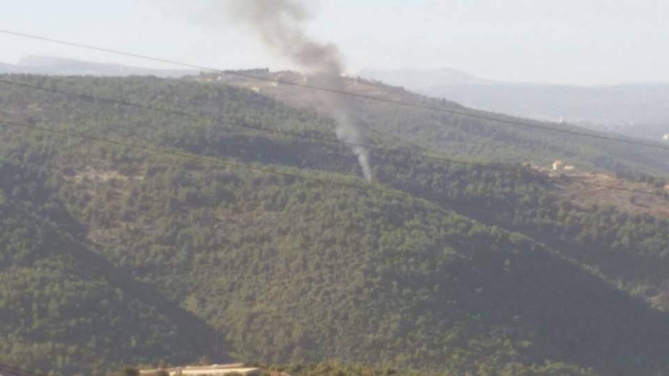 حريق يقضي على أشجار حرجية في الضنية