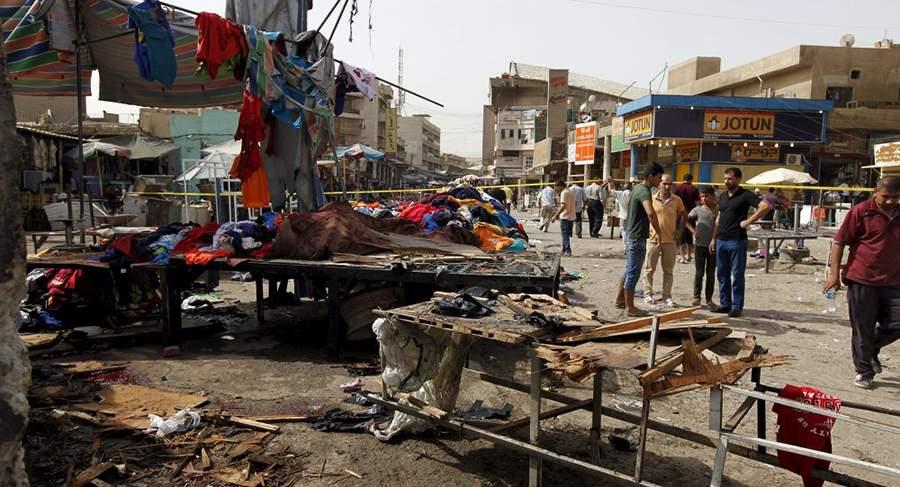 هجوم انتحاري استهدف موكباً في بغداد