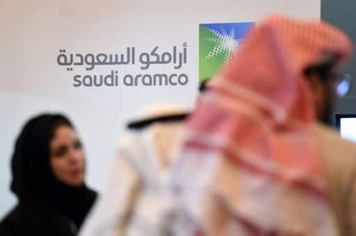 حريق في محطة نفطية لارامكو السعودية وسقوط جرحى