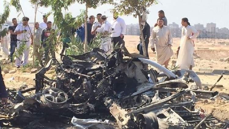 انفجار سيارة مفخخة في مدينة نصر بالقاهرة...محاولة فاشلة لاستهداف أحد القضاة
